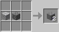 http://www.minecraft-crafting.net/app/src/Blocks/craft/craft_andesite.png