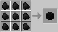 http://www.minecraft-crafting.net/app/src/Blocks/craft/craft_coalblock.png