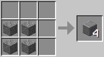 http://www.minecraft-crafting.net/app/src/Blocks/craft/craft_polishedandesite.png