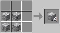 http://www.minecraft-crafting.net/app/src/Blocks/craft/craft_polisheddiorite.png