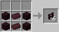 http://www.minecraft-crafting.net/app/src/Other/craft/craft_netherbrickfence.png