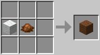http://www.minecraft-crafting.net/app/src/Wool/craft/craft_brownwool.png
