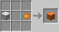 http://www.minecraft-crafting.net/app/src/Wool/craft/craft_orangewool.png