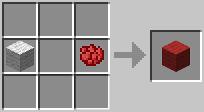 http://www.minecraft-crafting.net/app/src/Wool/craft/craft_redwool.png